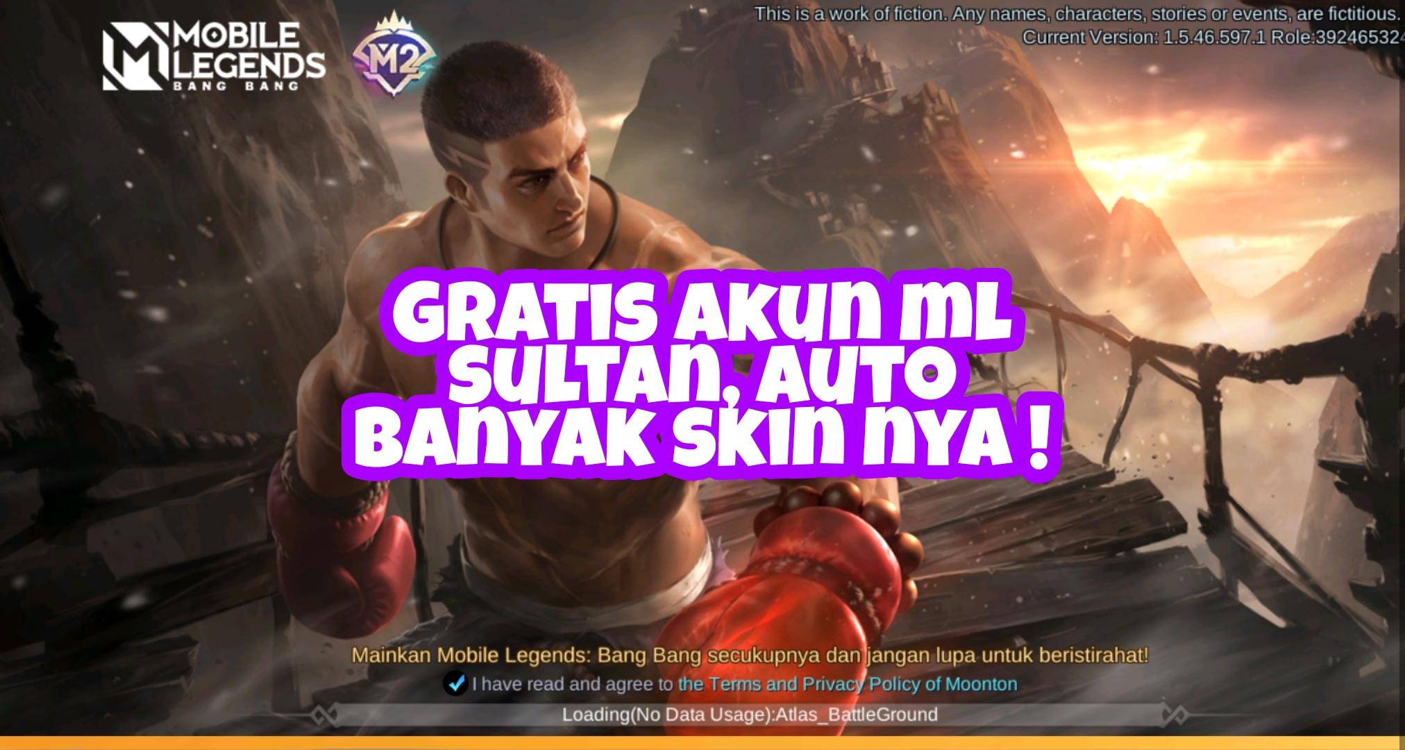 Akun Ml Sultan Gratis Legends Dan Mythic Calegpedia