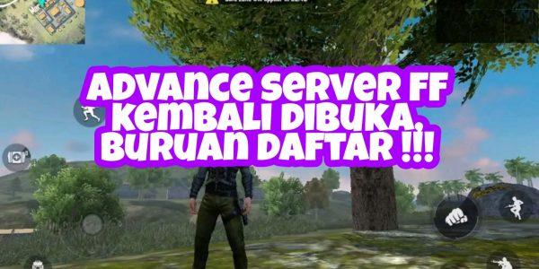 Advance Server FF (Free Fire) Telah Dibuka,Buruan Daftar !