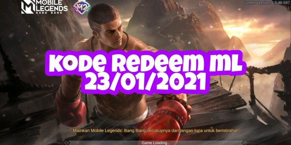 Kode Redeem ML Mobile Legends 23 Januari 2021