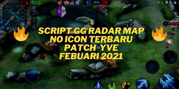 Script GG Radar Map No Icon Mobile Legends Febuari 2021